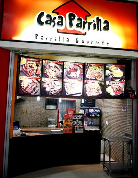 Casa parrilla centro comercial portal 80 for Parrilla para una casa
