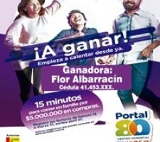 CONOCE A LA FELIZ GANADORA DEL SORTEO REALIZADO EL 01 DE ABRIL