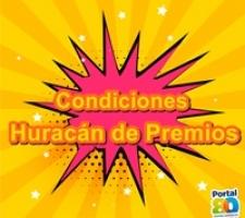 CONDICIONES HURACÁN DE  PREMIOS